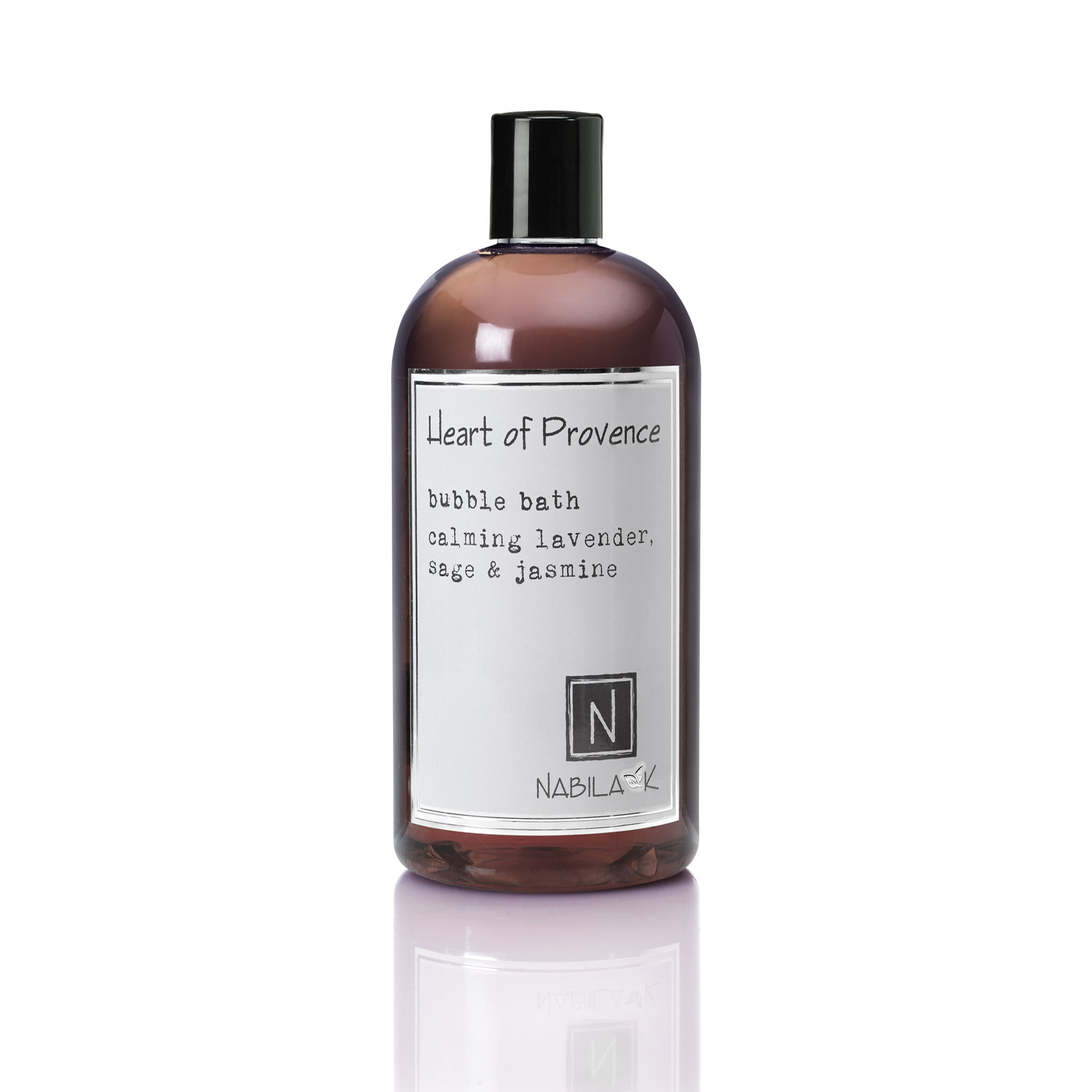 1 16oz bottle of heart of provence bubble bath calming lavender sage and jasmine