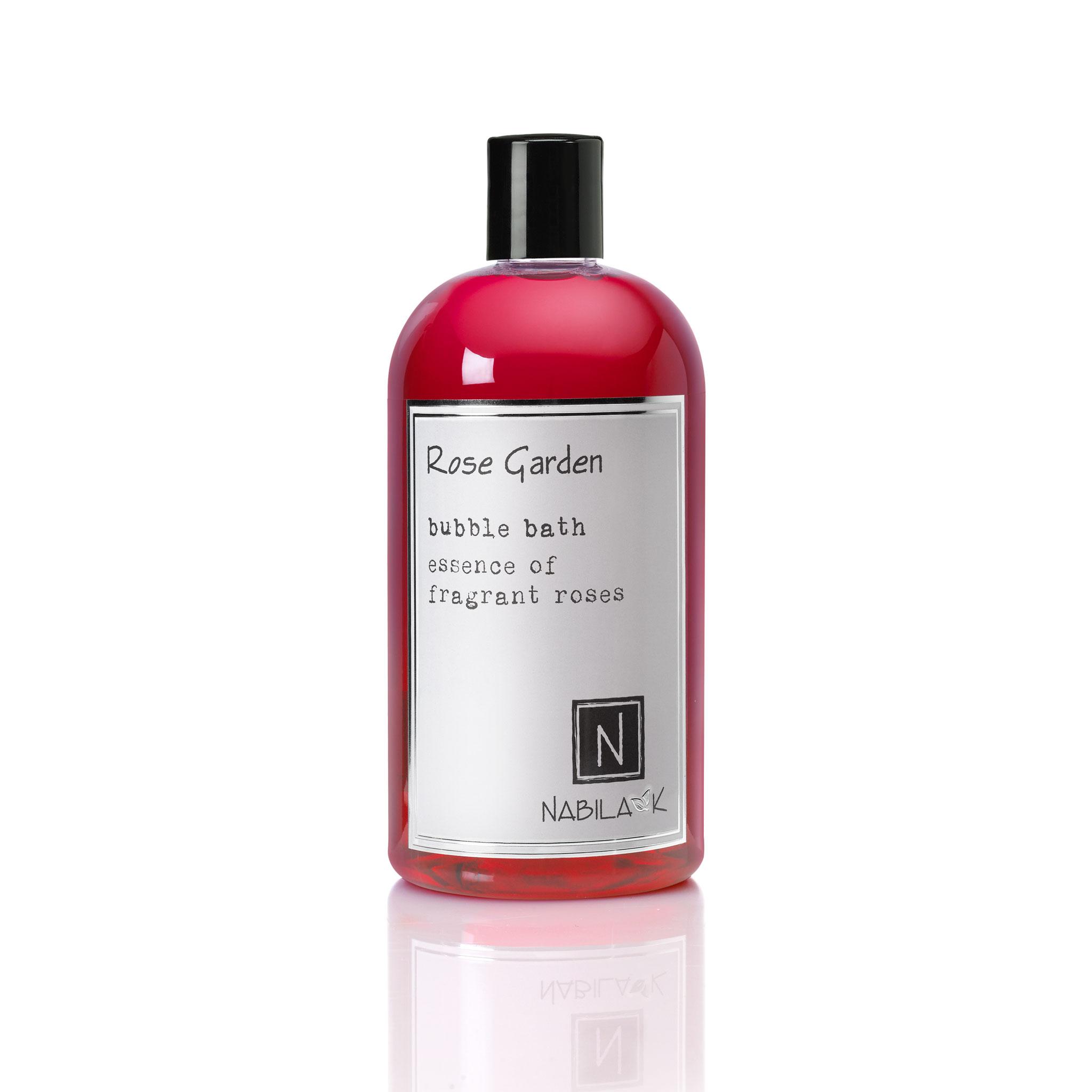 1 16oz bottle of rose garden bubble bath essence of fragrant roses