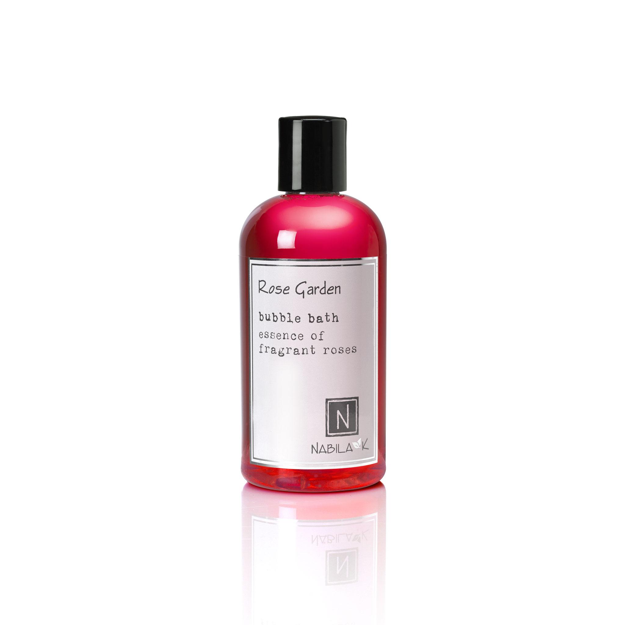 1 8oz bottle of rose garden bubble bath essence of fragrant roses