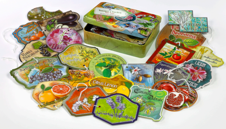 Voyager's Garden Gift Tags