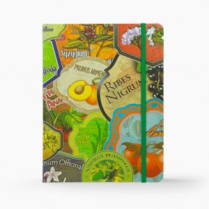 Nabila K's Voyager's Garden Large Notebook