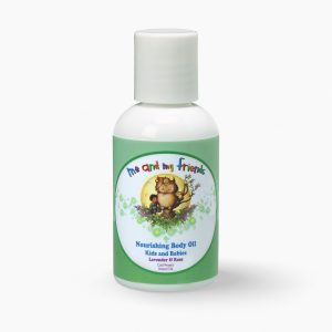 Nabila K's Me and My Friends Nourishing Body Oil Kids and Babies Lavender and Rose Cold Pressed Natural Oil