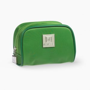 Nabila K's Green Toiletry Travel Bag