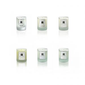Six Travel Size Candles