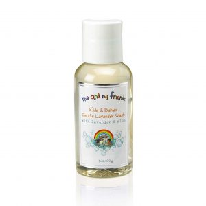 1 Travel Sized Bottle of Me and My Friends Kids and Babies Gentle Lavender Wash with Lavender Wash