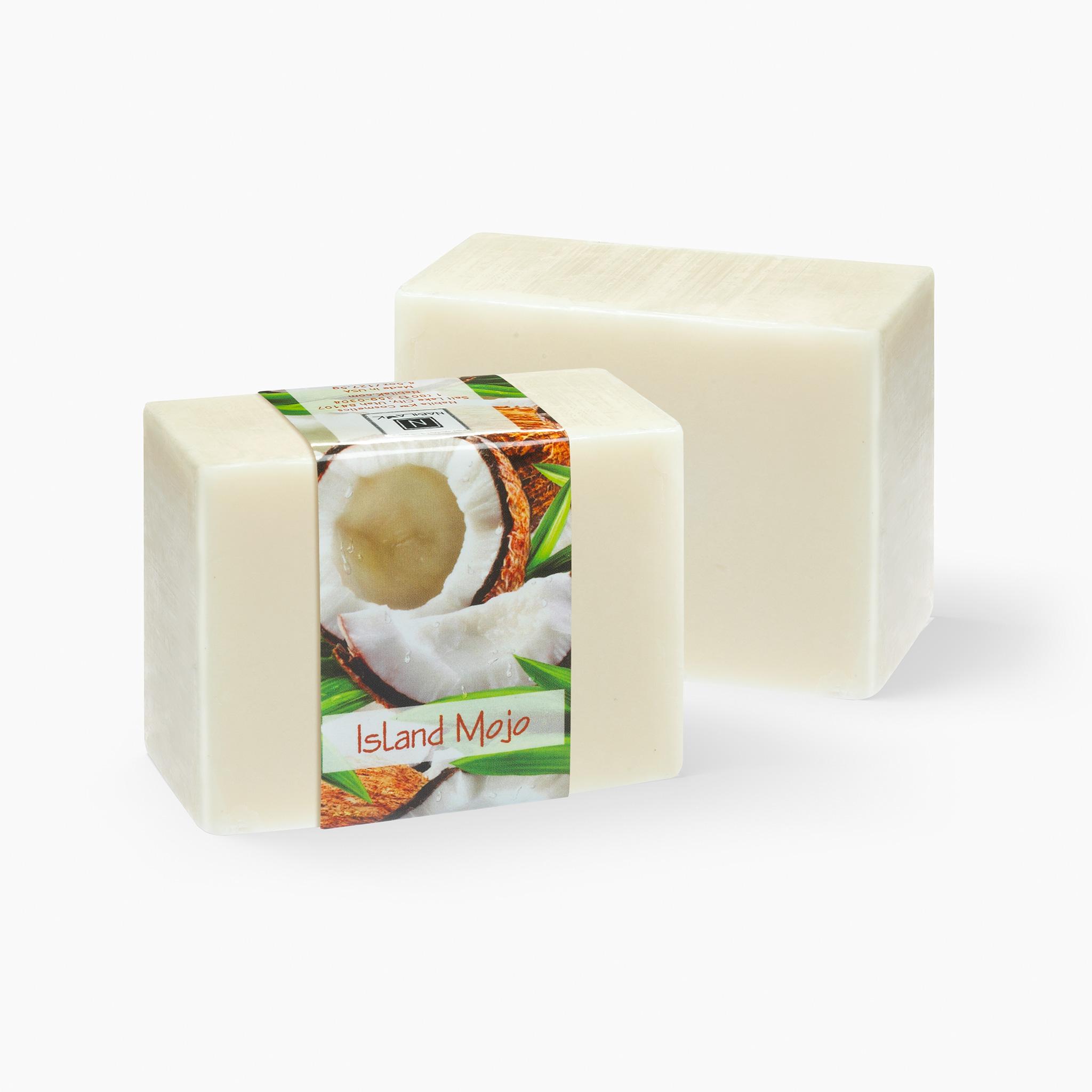 2 Bars of Nabila K's Natural Island Mojo Soap