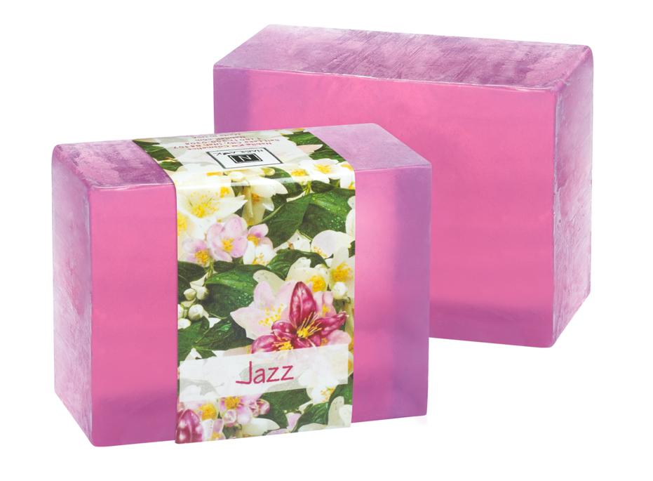 2 Bars of Nabila K's Jazz Full Bloom Glycerin Soap