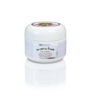 Body lotion for children and infants. All natural with chamomile extract, coconut and vanilla