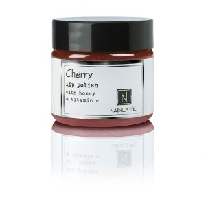 1 oz of Nabila K's Cherry Lip Polish with Honey and Vitamin E