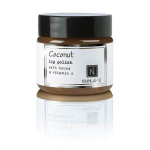 1 oz of Nabila K's Coconut Lip Polish with Honey and Vitamin E