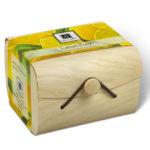 1 Wooden Box of Nabila K's Lemon Fresh Biodegradable Towelettes