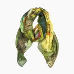 Nabila K's Botanical Adventures Nomad Spice Scarf Folded
