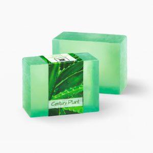 2 Bars of Nabila K's Century Plant Full Bloom Glycerin Soap