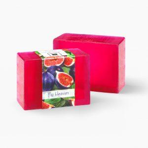 2 Bars of Nabila K's Fig Heaven Full Bloom Glycerin Soap
