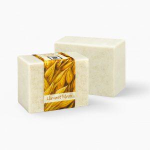 2 Bars of Nabila K's Harvest Moon Full Bloom Glycerin Soap