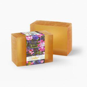2 Bars of Nabila K's Hathor Full Bloom Glycerin Soap