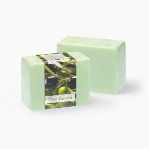 2 Bars of Nabila K's Olive Harvest Full Bloom Glycerin Soap