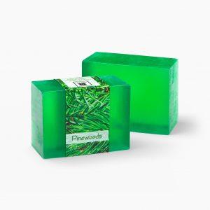 2 Bars of Nabila K's Pinewood Full Bloom Glycerin Soap