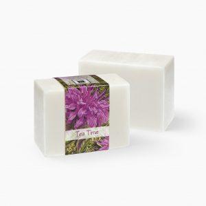 2 Bars of Nabila K's Tea Time Full Bloom Glycerin Soap