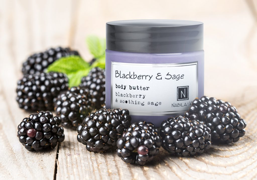 Blackberry and Sage Body Butter