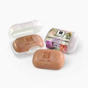 3 of Nabila K's Coconut Crystal Etch Microdermabrasion Exfoliating Soap Bar with A Case