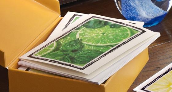 Nabila K's Sunshine Zest Cards and Envelopes