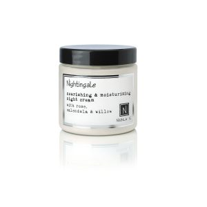 1 5oz Jar of Nabila K's Nightingale Nourishing and Moisturizing Night Cream with Rose Calendula and Willow