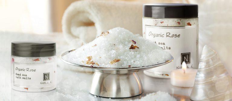 Beautiful spa day using all natural bath salts.