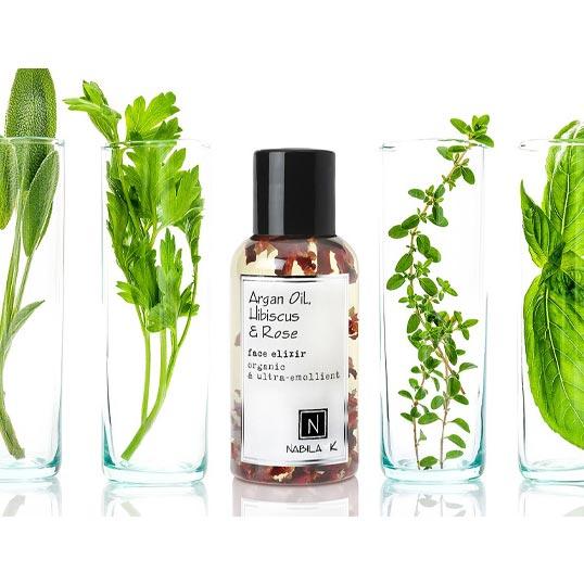 Argan Oil, Hibiscus & Rose Face Elixir
